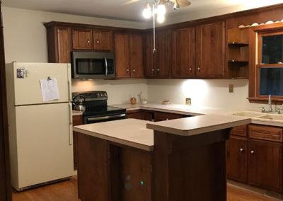 kitchen before retro remodel