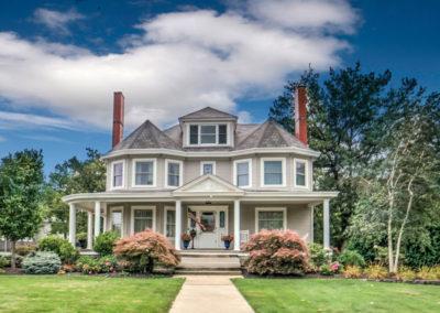 victorian century home exterior