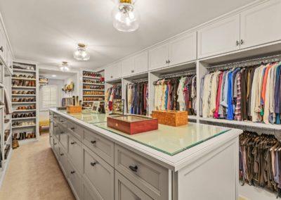 luxury master closet remodel