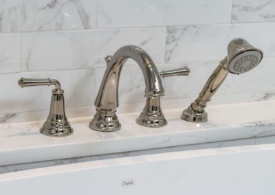 stainless steel bathroom faucet with sprayer